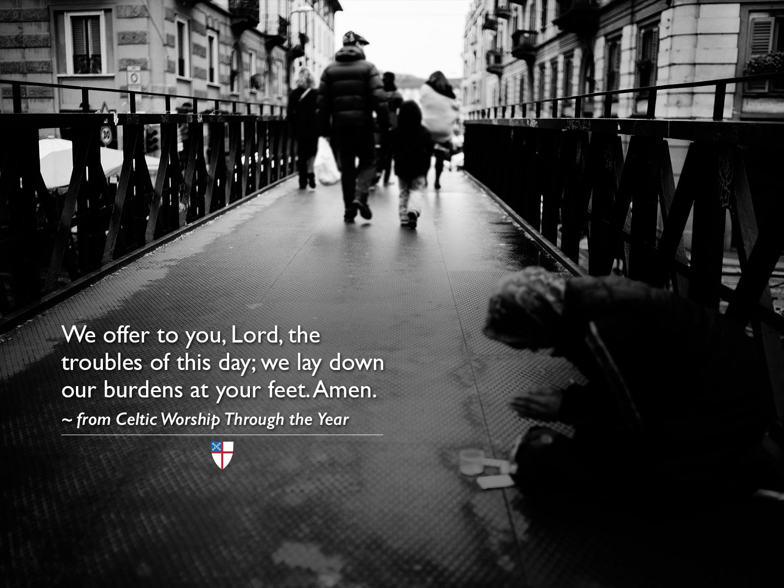 We Offer To You, Lord, The Troubles Of This Day We Lay -5132