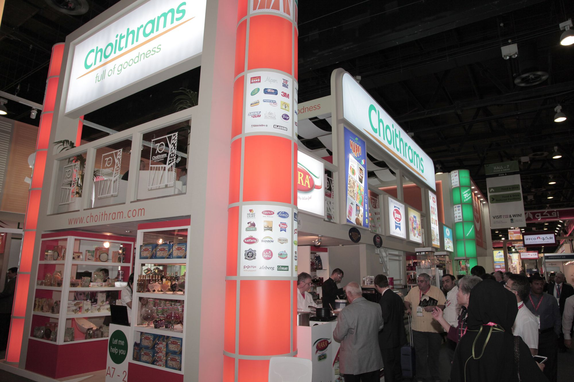 #Choithrams @ GulFood. #GulFood #2013