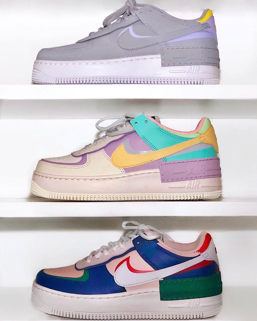 Wer sonst liebt den neuen AF 1 Schatten und th Nike air