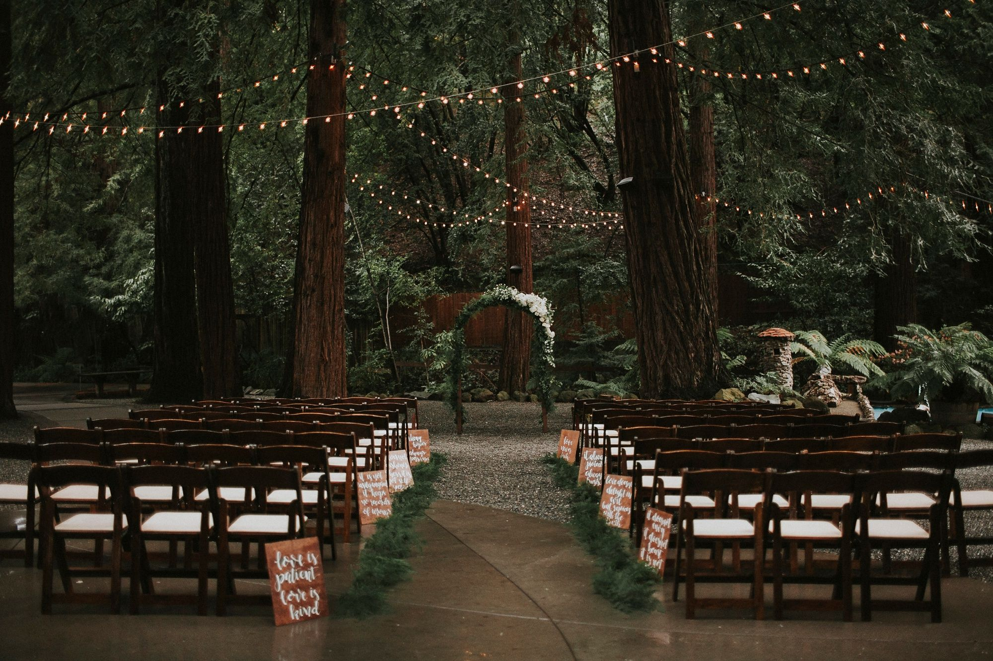 Venue Goals Victoria Carlson Lindsay Eugene Redwoods Northern California Bay Area Wedding