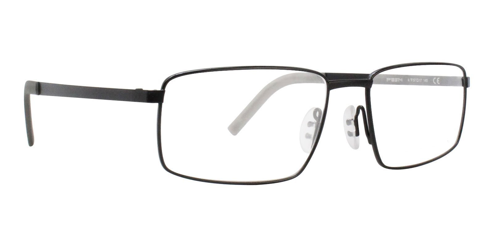 d9722222e8b Porsche Design - P8314 Black-eyeglasses-Designer Eyes