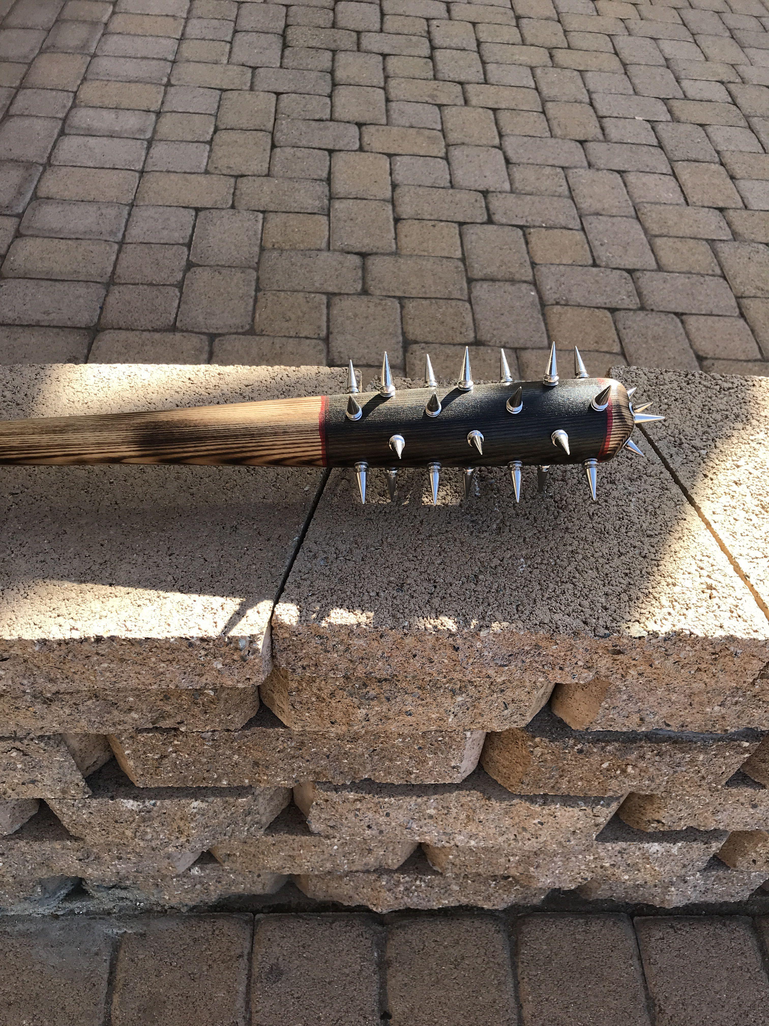 Spiked Bat Baseball Bat Weapon Bat Baseball Bat