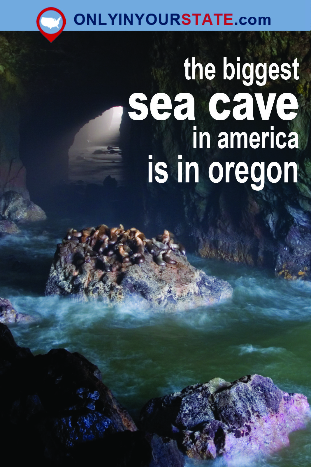 The biggest sea cave in america is located in oregon and youll the biggest sea cave in america is located in oregon and youll want to visit it sciox Images