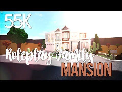 Roblox Family Roleplay House 55k Bloxburg Speedbuild 6zjd3ddjvbs Diy Canopy Cafe House Canopy Bed Diy