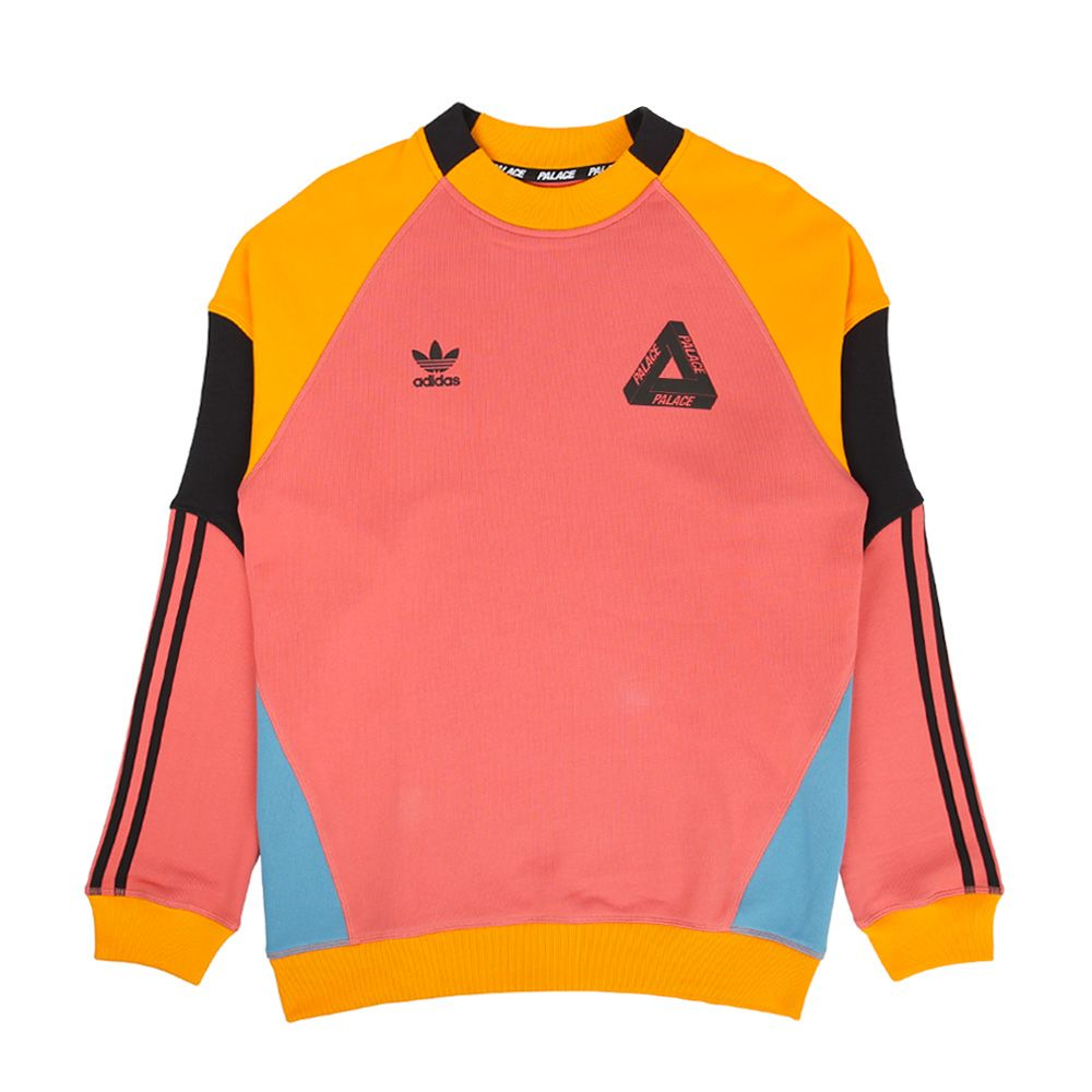 adidas palace hoodie orange