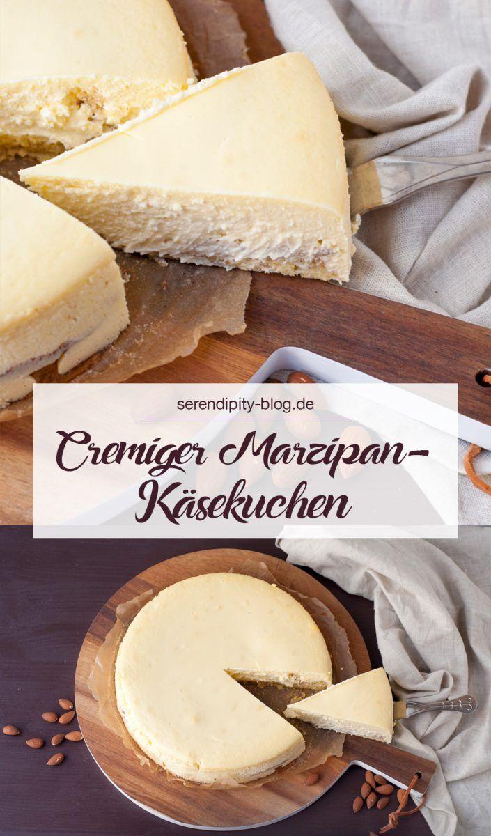 Marzipan-Käsekuchen   Serendipity