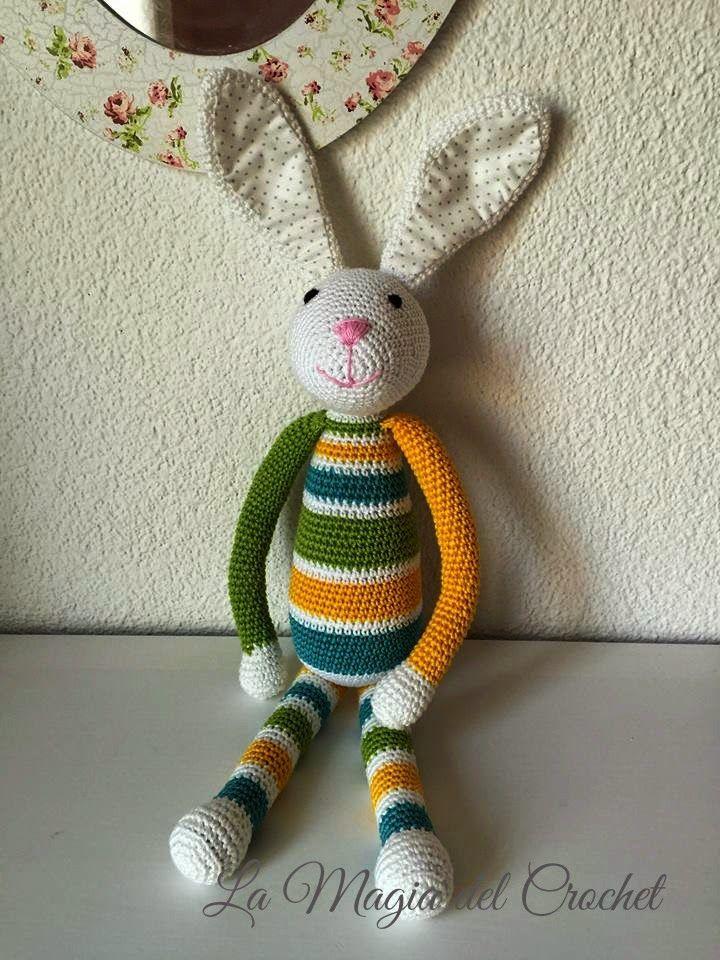 La Magia del Crochet: El Conejo Alejo   amigurumi animals ...