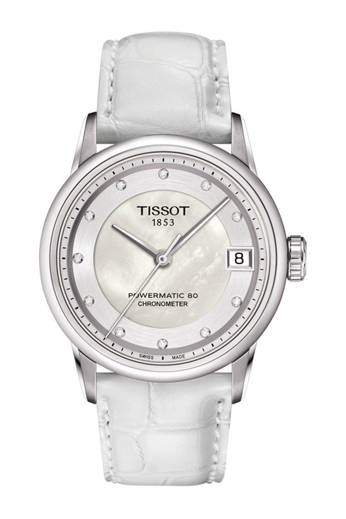 Tissot Women S Powermatic Luxury Diamond Watch 33mm 0 042 Ctw Hautelook Luxury Diamonds Womens Watches Tissot Watches