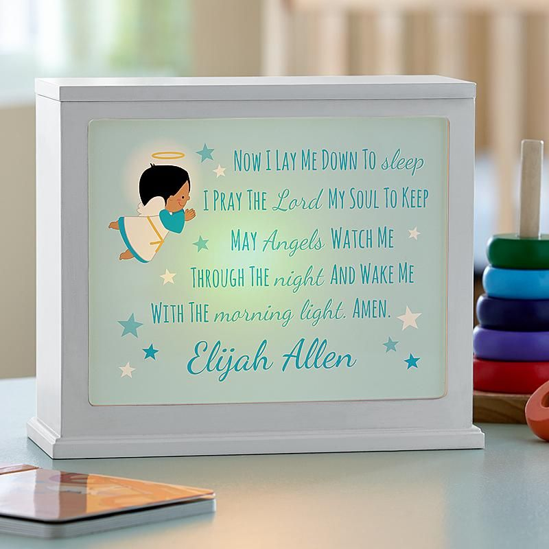 Childrens prayer accent light babies gender reveal and babies childrens prayer accent light negle Image collections