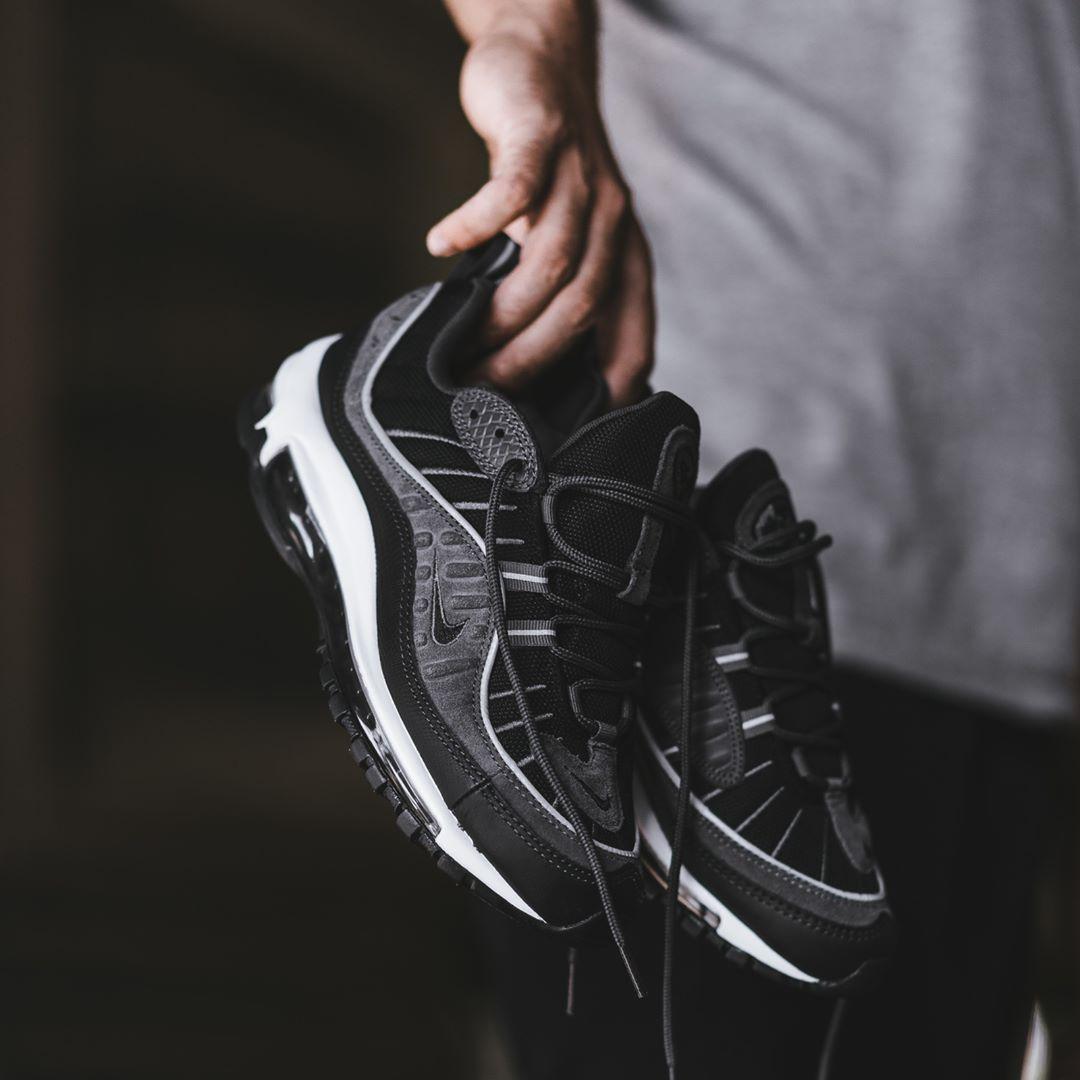 Nike Air Max 98 Black Anthracite | Shoes | Nike air shoes