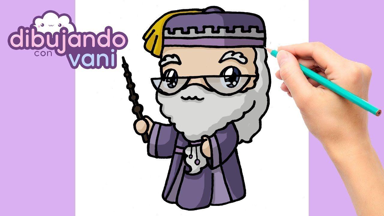 Como Dibujar A Dumbledore Kawaii How To Draw Dumbledore