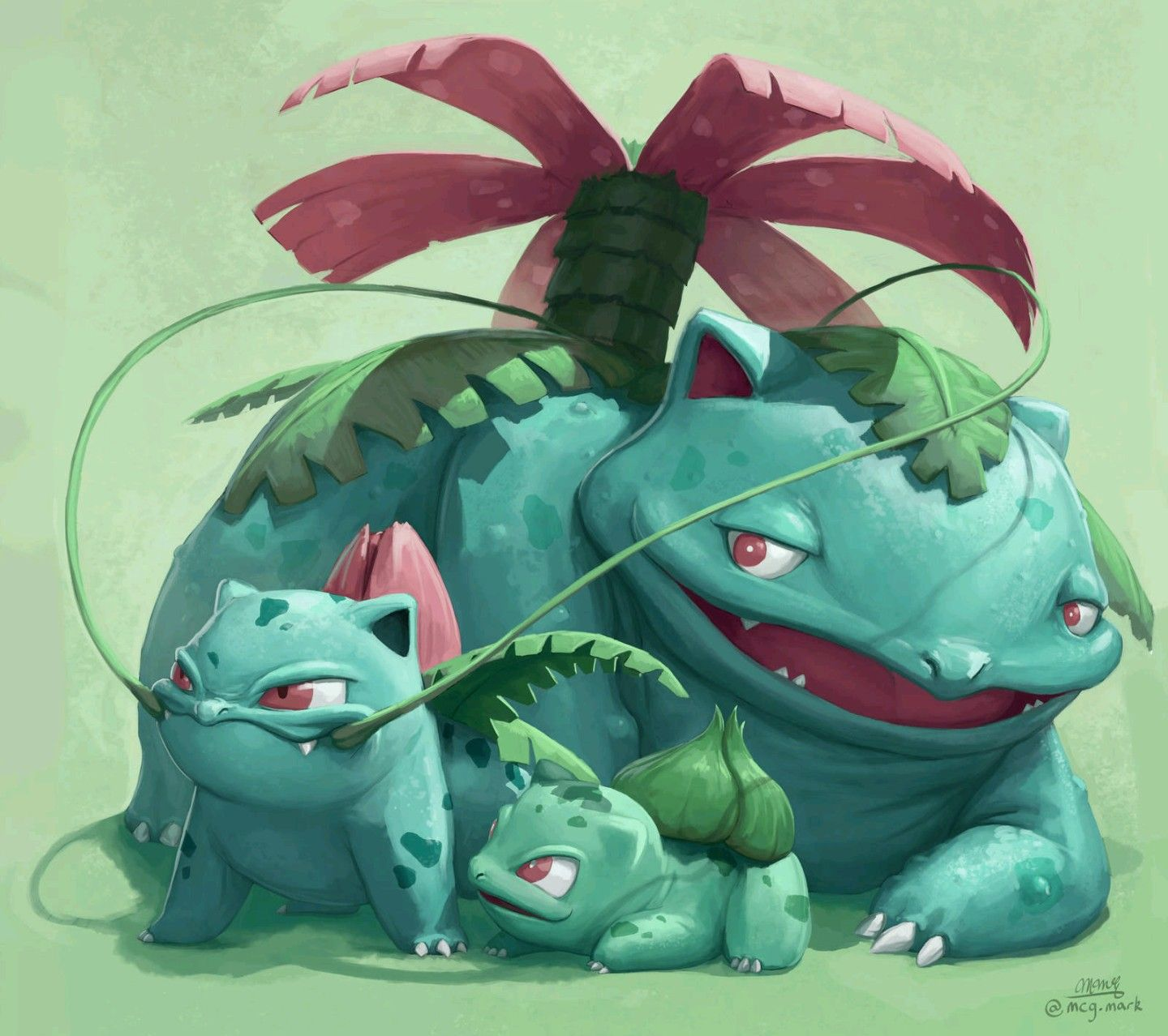Bulbasaur Evolution Pokemon Mons Digi And Poké Pinterest