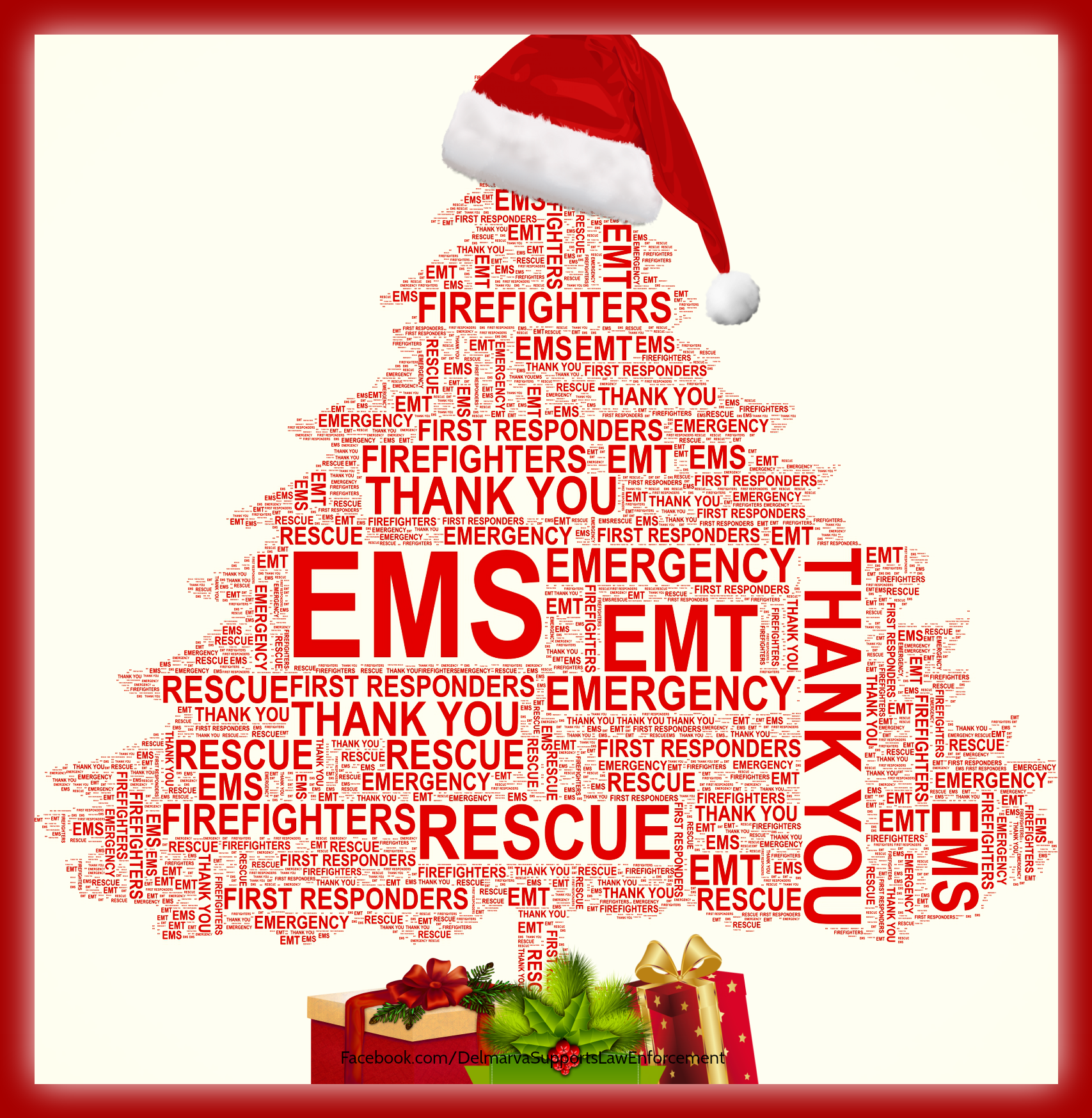 Thank You Firefighters And Merry Christmas Merry Christmas To All Firefighter Emt 1st Responders