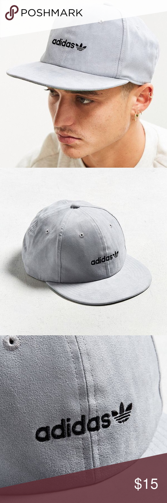 c83abd9a77c Brand new adidas Faux Suede Relaxed Strapback Hat Adjustable fit Adidas  originals Accessories Hats