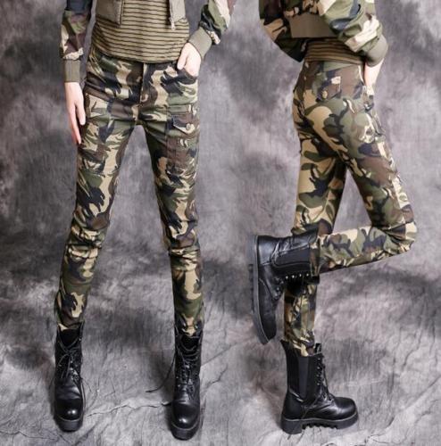 JAUNE Womens Military Print Jumpsuit Small Military Print