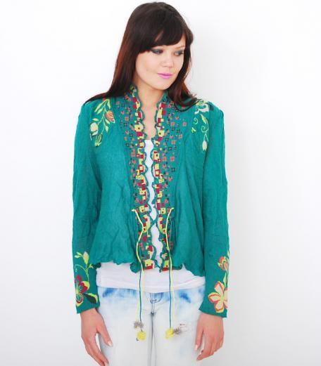 Ivko knits Cardigan green