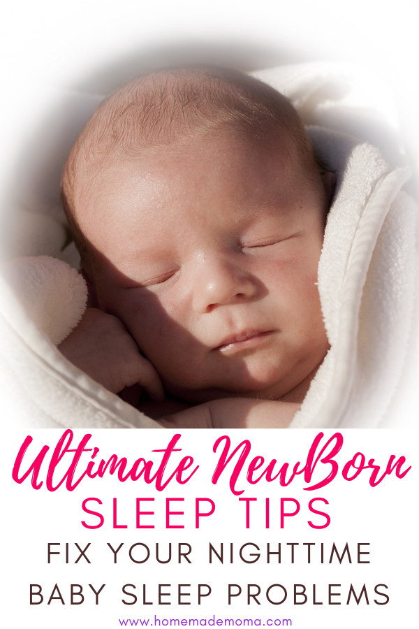 How to get infant to sleep at night