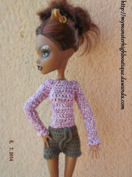 Ropa para Monster High s395 de My Monster High boutique por DaWanda.com