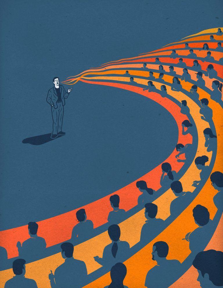 Editorial Illustrations by Francesco Bongiorni - Inspiration Grid   Design Inspiration