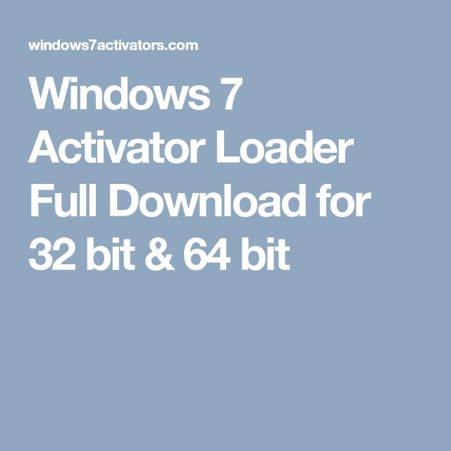 loader windows 7 download 32 bit