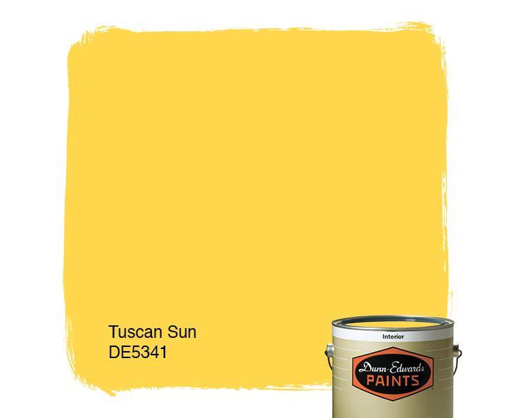 Dunn Edwards Paints Paint Color Tuscan Sun De5341 Click For A Free