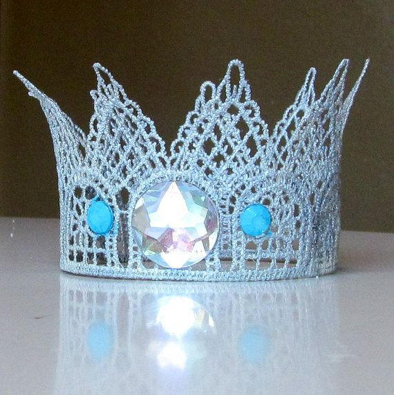 Lace Crown Silver by FairytaleFaire on Etsy, $12.00