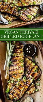 Vegan Teriyaki Grilled Eggplant The Effective Pictures We Offer You About Vegetarian Recipes thai A quality picture can tell you many things You can find the most beautif...