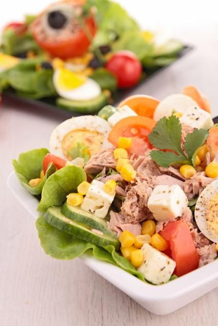 salat mit thunfisch salate pinterest low carb salad. Black Bedroom Furniture Sets. Home Design Ideas