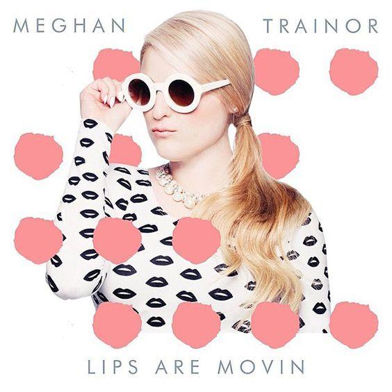 Meghan Trainor – Lips Are Movin (single cover art)