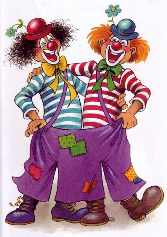 Clowns Clown Paintings Clown Crafts Clowns Funny