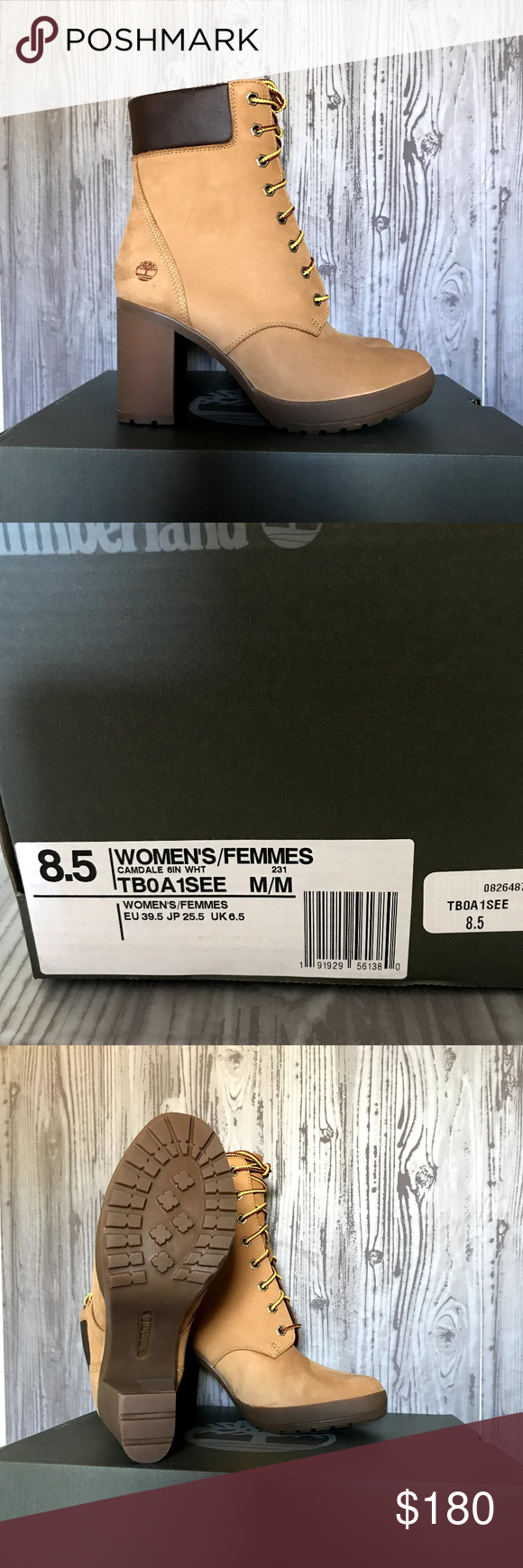 b59b1888e81 TIMBERLAND WOMEN'S CAMDALE CHUNKY HEEL BOOTS These boots are a great ...