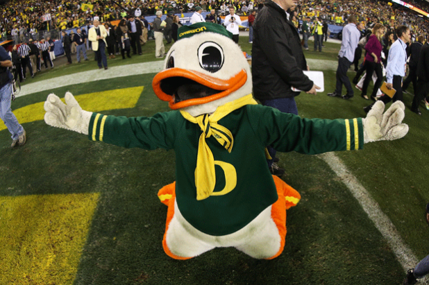 11 Mascots That Embody College Football Fandom Oregon