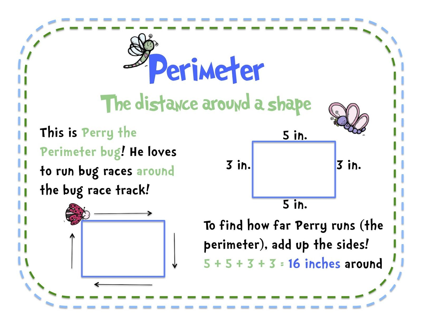 Free Anchor Teaching Area And Perimeter