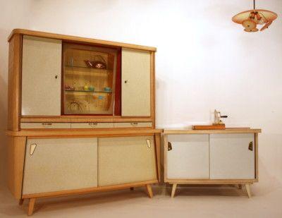 Kitchen Cabinet 50s 50ER Küche Cuisine A 50 Sideboard Küchenbuffet - küche bei ebay