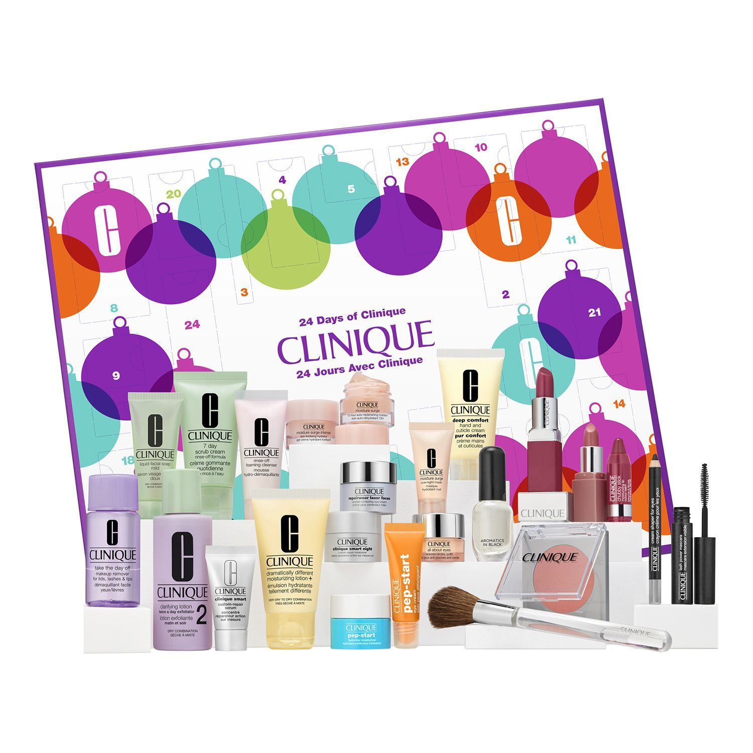 Advent calendar 24 surprise gifts Clinic SEPHORA product