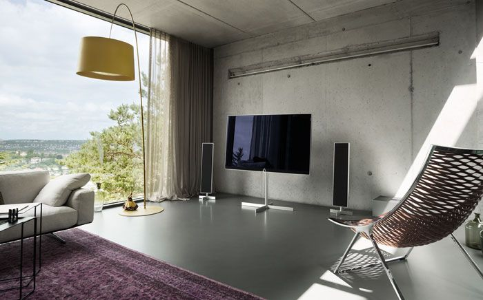 Home Theater Sala TV Cote Maison Maison E Meuble Tv