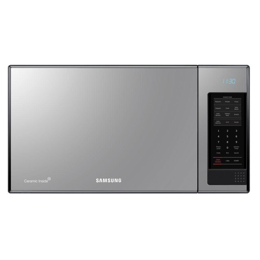 Samsung 1 4 Cu Ft 950 Watt Countertop Microwave Gloss With