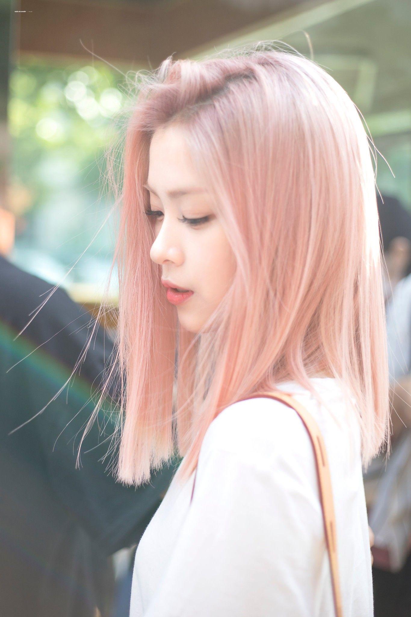 ITZY / Ryujin di 2020 Ide warna rambut, Warna rambut