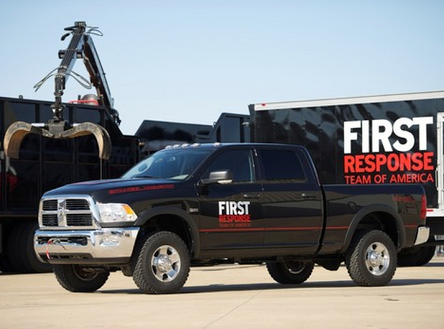 Ram Truck And The FCA Foundation Announced The Donation Of $100,000 To The First Response Team Of America