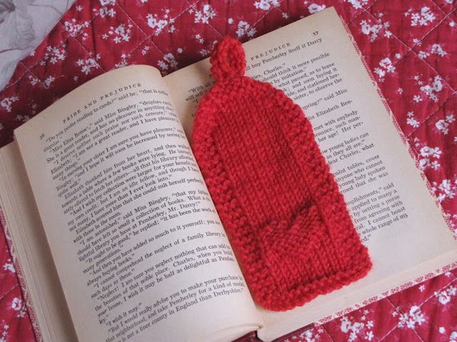 Free Valentine Heart Knitted Bookmark Pattern Hearts Pinterest