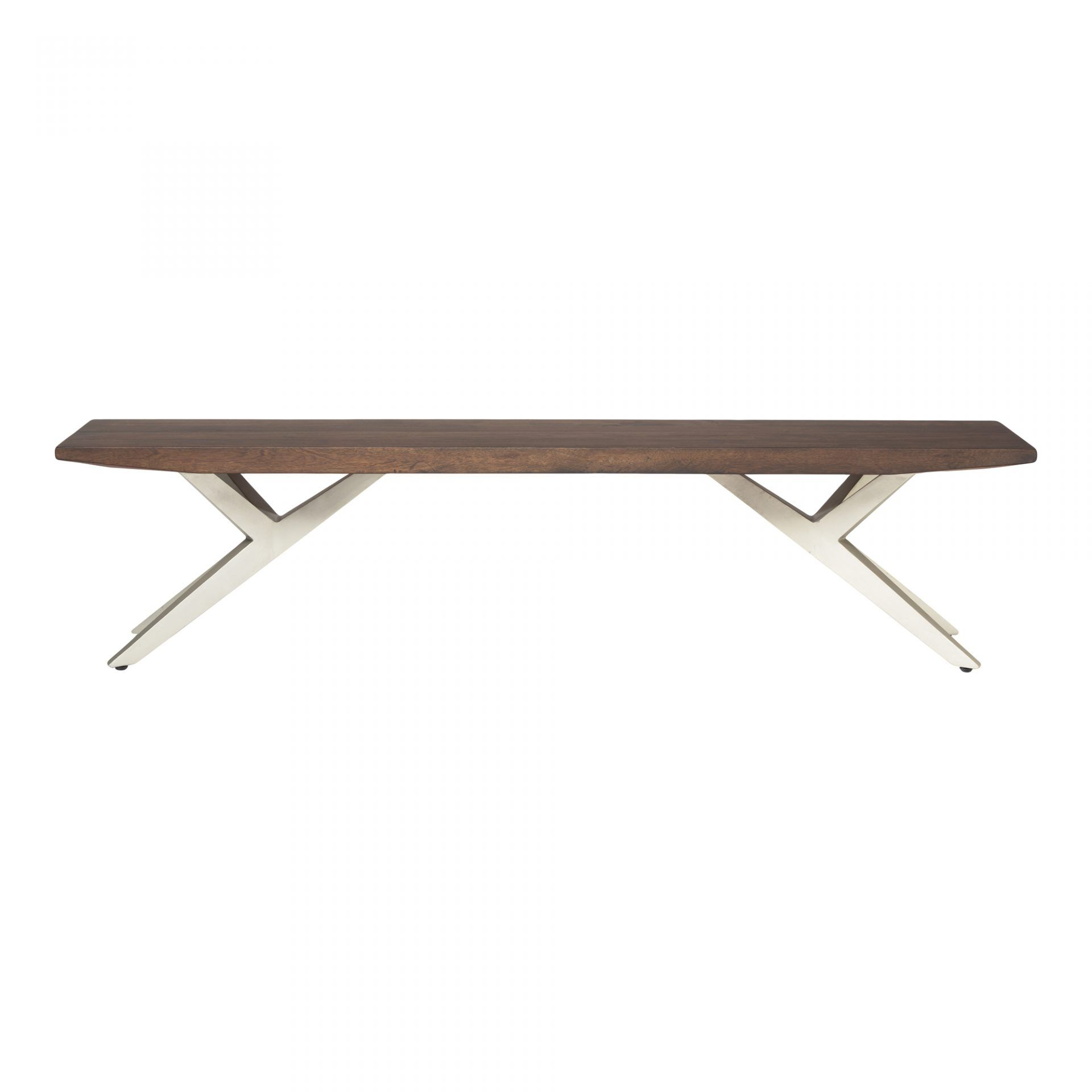 Wondrous Air Loft Bench Dark Brown Dining Benches Moes Wholesale Caraccident5 Cool Chair Designs And Ideas Caraccident5Info