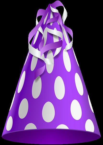 24+ Purple birthday hat clipart info