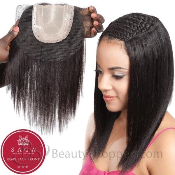 Saga Remy Human Hair Piece Full Lace Closure Lace Closure Remy