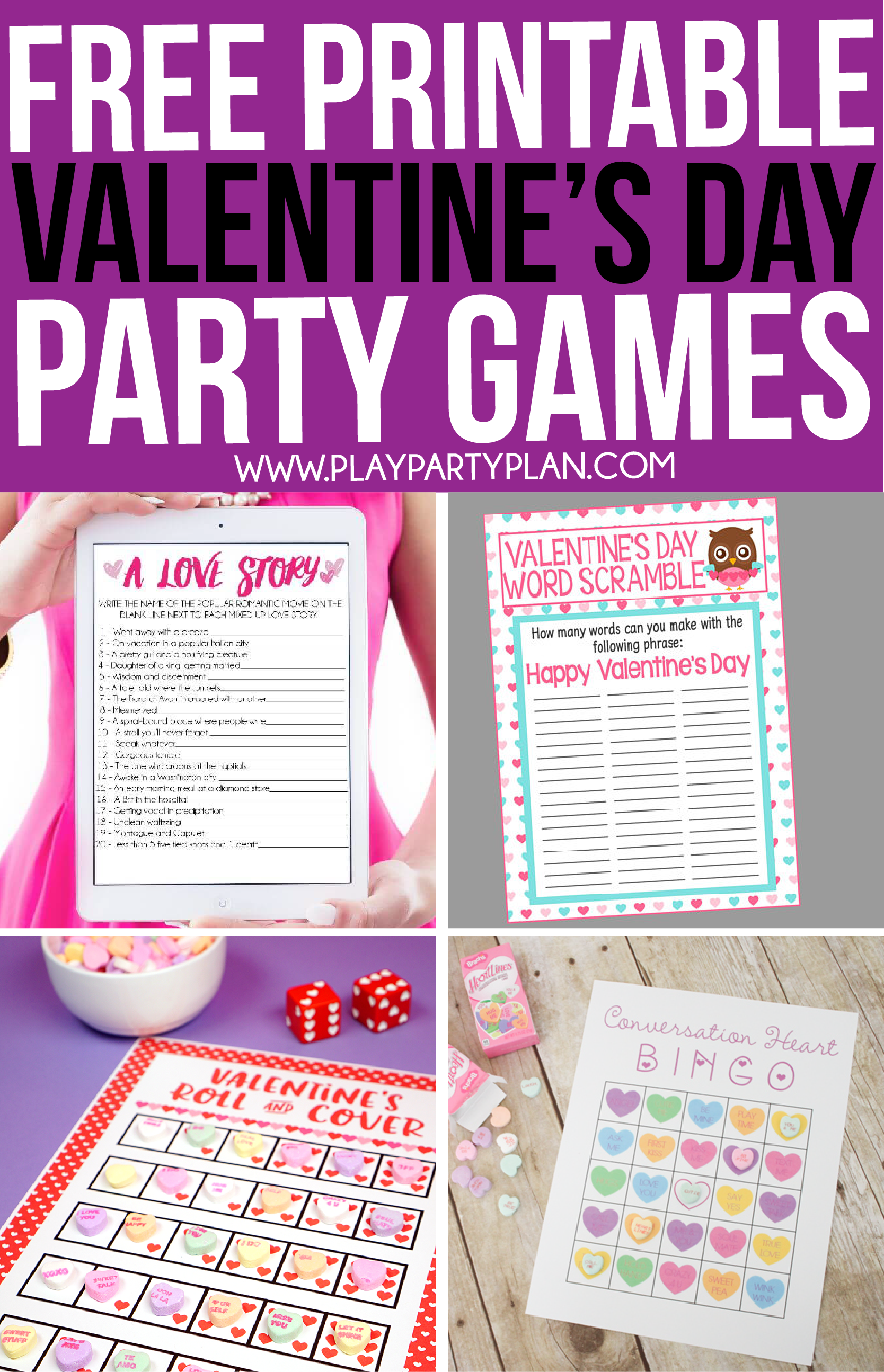 30 Valentines Day Games Everyone Will Love | Valentines