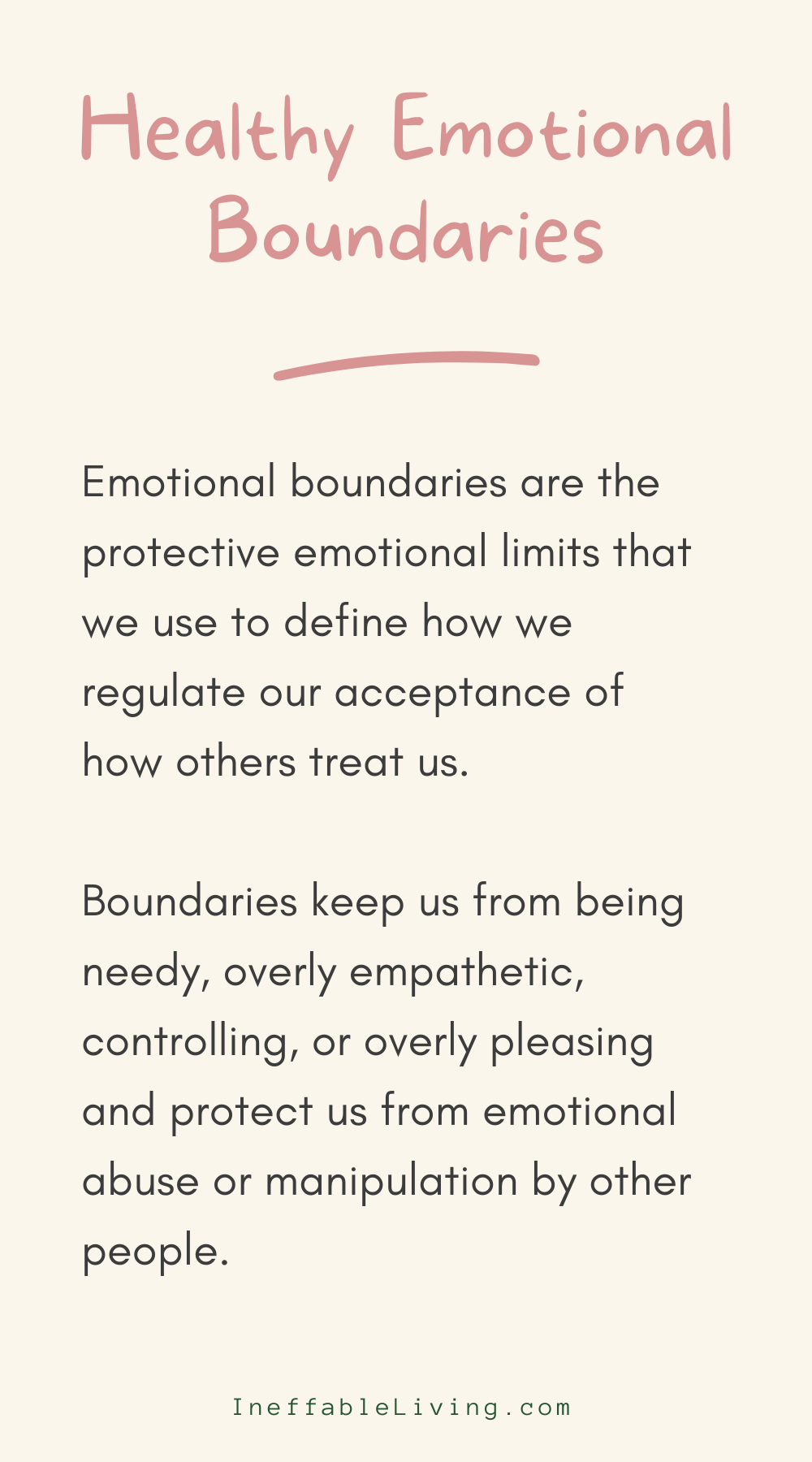 How to Firmly Establish and Enforce Healthy Emotional Boundaries?