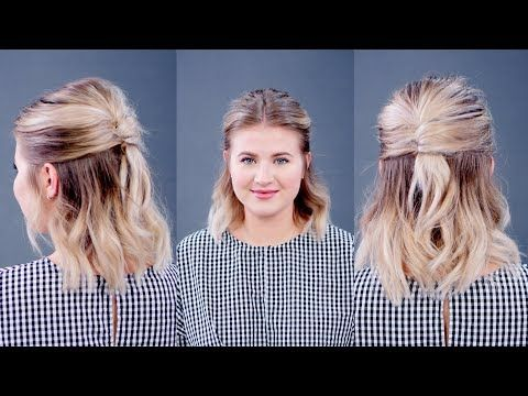 Running Late For Work Try One Of These Quick Easy Hairstyles You Can Do Yourself At Home And You Ll Look Pu In 2020 French Twist Hair Long Hair Styles Girl Haircuts