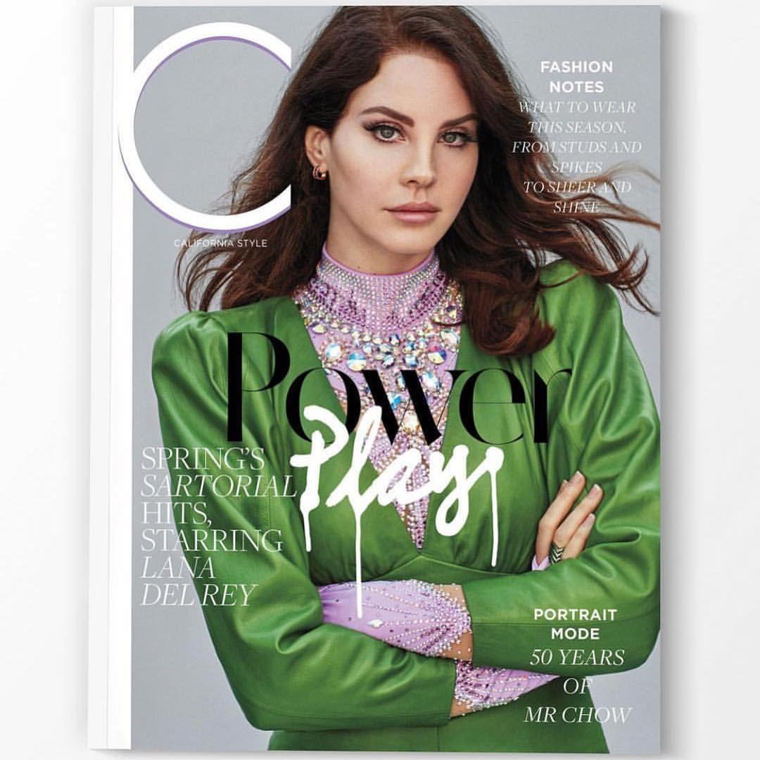Lana Del Rey On Life In L A Lana Del Rey Fashion