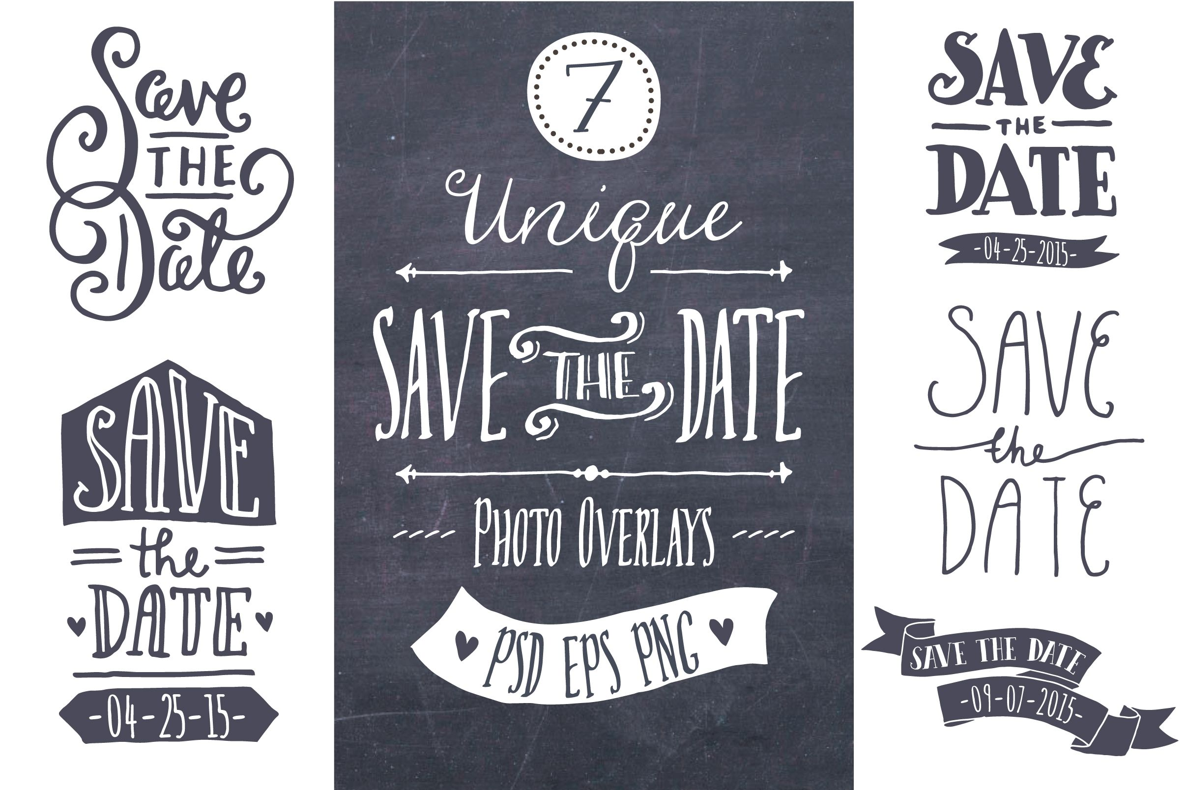 Save the Date Overlays   More Wedding ideas