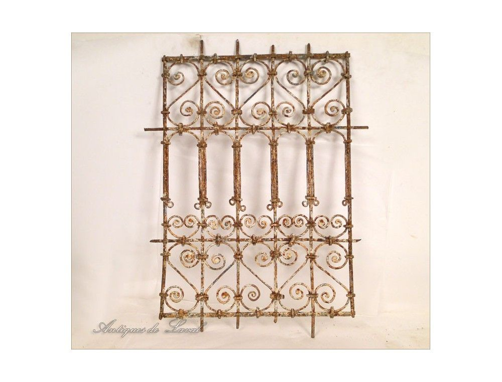 Moroccan Wrought Iron Window Grills 4