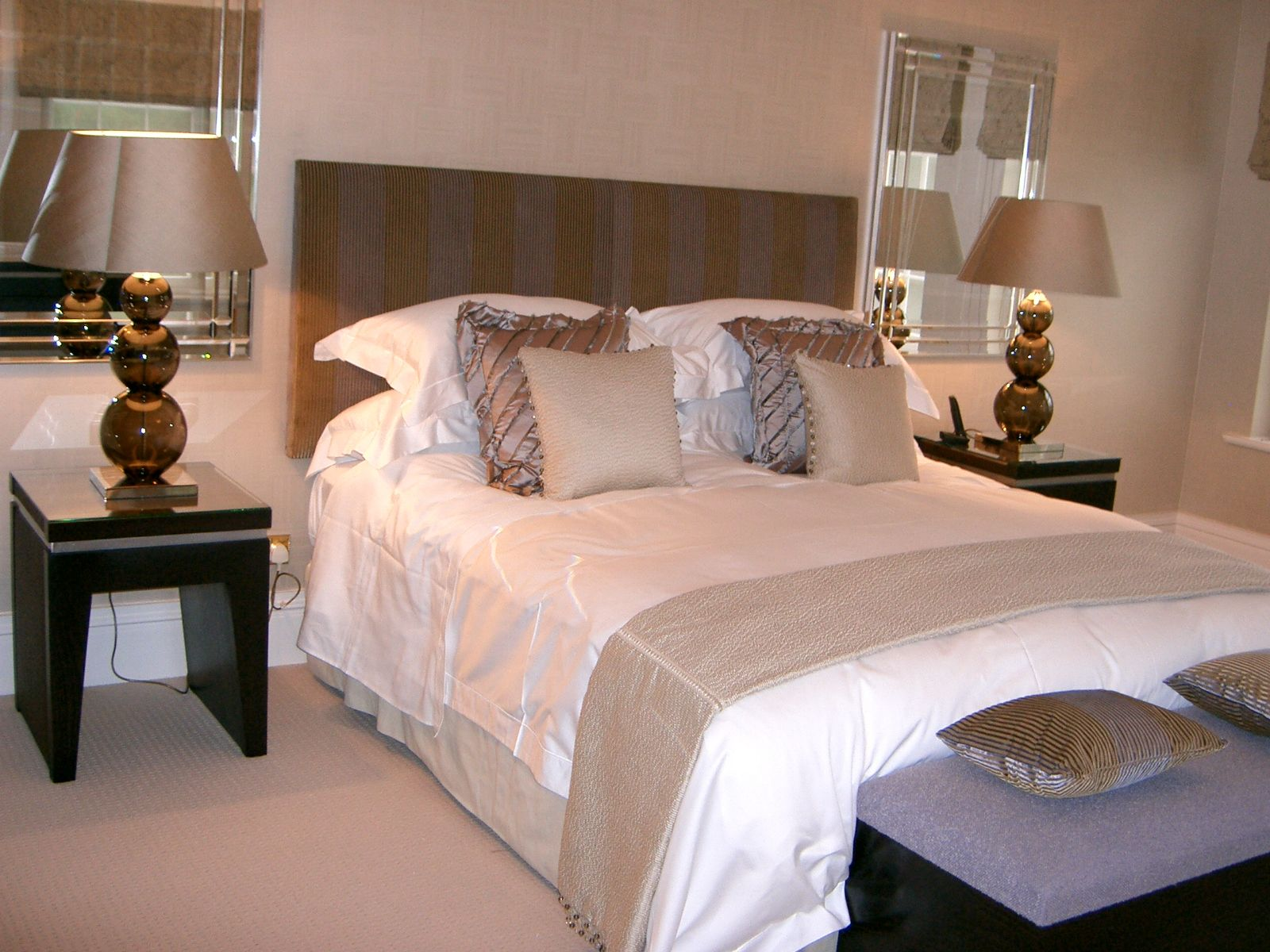 For many bedrooms are a place to relax so bright, even
